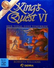 King's Quest VI: Heir Today, Gone Tomorrow (Blue) (IBM PC)