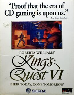 King's Quest VI: Heir Today, Gone Tomorrow (IBM PC) (CD Version)