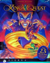 King's Quest VII: The Princeless Bride (IBM PC) (missing manuals) (Contains Hint Book)