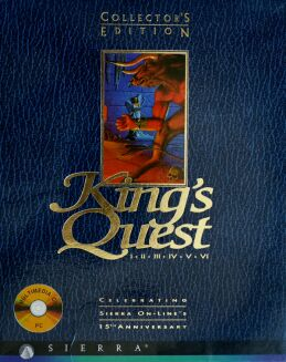 King's Quest Collector's Edition (King's Quest I-VI) (IBM PC) (UK Version)