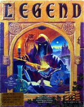 Legend (Amiga) (Contains Hint Book)