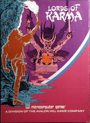 Lords of Karma (Commodore PET/Apple II/TRS-80)