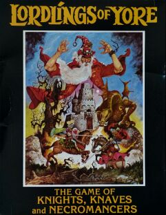 Lordlings of Yore: The Game of Knights, Knaves and Necromancers (Softlore Corporation) (Apple II)