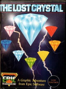 Lost Crystal, The (Epic Software) (Acorn Electron) (Contains Hint Book)