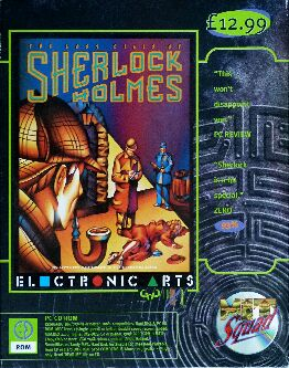 Lost Files of Sherlock Holmes, The (Hit Squad) (IBM PC)