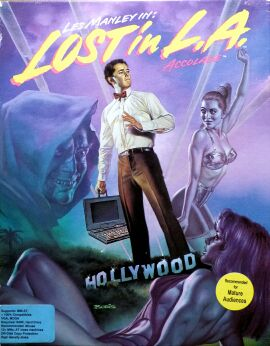 Les Manley in: Lost in L.A. (Accolade) (IBM PC) (Contains Making Of, UK Release Parts)