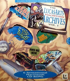 LucasArts Archives, The: Volume I (Star Wars: Rebel Assault, Super Sampler CD, Maniac Mansion 2: Day of the Tentacle, Dark Forces: Special Edition, Indiana Jones and the Fate of Atlantis, Sam & Max Hit the Road)