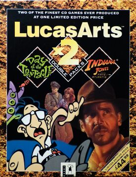 LucasArts x2 Double Packs: Maniac Mansion 2: Day of the Tentacle and Indiana Jones and the Fate of Atlantis