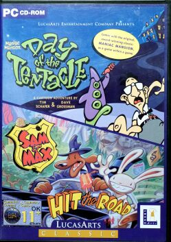 Maniac Mansion 2: Day of the Tentacle  and Sam & Max Hit the Road