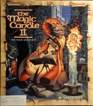 Magic Candle II, The: The Four and Forty (IBM PC) (Contains Clue Book)