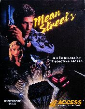 Mean Streets (Access) (C64)