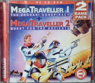 MegaTraveller 1: The Zhodani Conspiracy & MegaTraveller 2: Quest for the Ancients (Empire) (IBM PC)