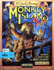 Monkey Island 2: LeChuck's Revenge (Amiga) (Contains Hint Book)