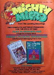 Mighty Micro (Alice in Wonderland and Freddy's Puzzling Adventures) (Learning Advantage) (Apple II)