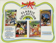 Mikro-Gen Classic Collection #2 (Automania, The Witch's Cauldron, Pyjamarama, Battle of the Planets) (Mikro-Gen) (C64)