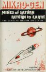 Mines of Saturn and Return to Earth (Mikro-Gen) (ZX Spectrum)