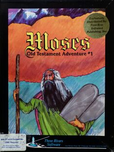 Moses: Old Testament Adventure #1 (First Row) (IBM PC)