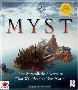 Myst (Cyan) (Macintosh/IBM PC) (Contains Hint Sheet)