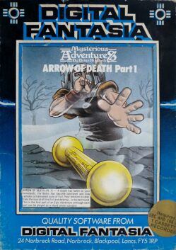 Mysterious Adventures 3: Arrow of Death Part 1 (BBC Model B)