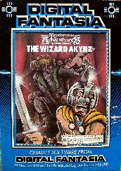 Mysterious Adventures 8: The Wizard of Akyrz (BBC Model B)