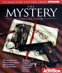 Mystery Collection, The (Activision) (Macintosh/IBM PC) (missing Sherlock Newspaper)