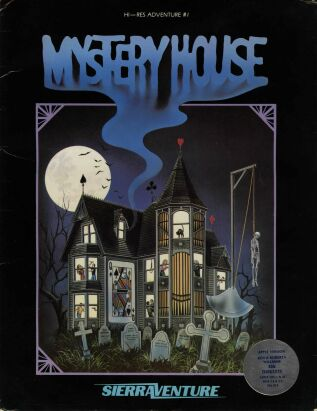 Mystery House (Sierraventure) (Apple II)
