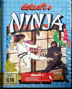 Ninja (Dotsoft) (C16/Plus4)