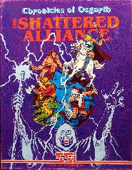 Chronicles of Osgorth: The Shattered Alliance (Apple II) (Contains Tool Kit)