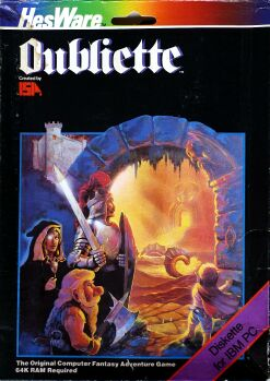 Oubliette (HesWare) (IBM PC) (missing manual)