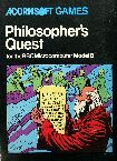 Philosopher's Quest (BBC Model B) (Contains Hint Book)
