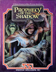 Prophecy of the Shadow (Slash) (IBM PC) (Contains Clue Book)