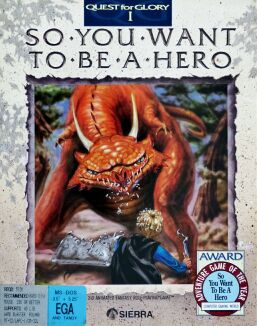 Quest for Glory I: So You Want to be a Hero? (IBM PC)