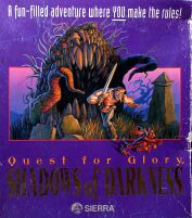 Quest for Glory IV: Shadows of Darkness (IBM PC) (Contains Hint Book)