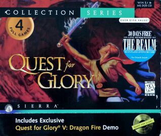 Quest for Glory Collection (Quest for Glory I-IV) (IBM PC) (Contains Soundtrack)