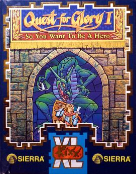 Quest for Glory I: So You Want to be a Hero? (Amiga)