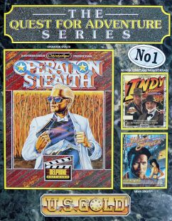 Quest for Adventure Series, The (includes Operation Stealth, Mean Streets, Indiana Jones and the Last Crusade Graphic Adventure)