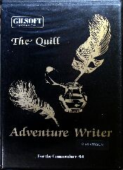 Quill, The (Gilsoft) (C64)