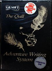Quill, The and Illustrator, The (Twin Program Pack) (Gilsoft) (C64)