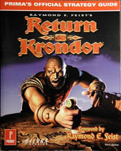 Return to Krondor: Official Strategy Guide