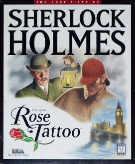 Lost Files of Sherlock Holmes, The: Case of the Rose Tattoo (IBM PC) (missing Reference Card, Notebook)