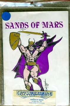 Sands of Mars (Crystalware) (Atari 400/800)