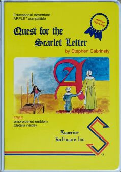 Quest for the Scarlet Letter (Superior Software) (Apple II)