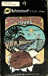Adventure 10: Savage Island Part One (Early Cover Art) (Atari 400/800)
