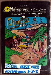 Adventure 1-2-3 (Value Pack #1) (TRS-80)