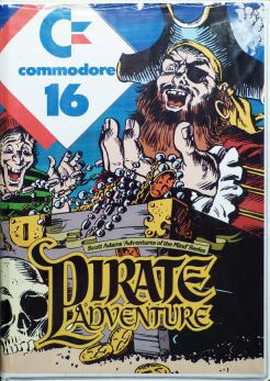Adventure 2: Pirate Adventure (C16/Plus4)