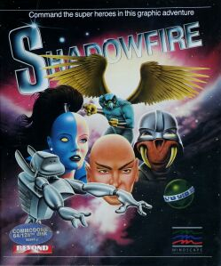 Shadowfire (Beyond) (C64) (missing manual)