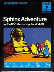 Sphinx Adventure (BBC Model B) (Disk Version) (Contains Hint Book)