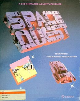 Space Quest I: The Sarien Encounter (Alternate Slipcase) (Apple II)