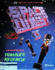 Space Quest II: Vohaul's Revenge (Atari ST) (Contains Hint Book)