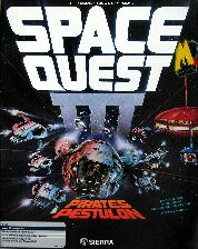 Space Quest III: The Pirates of Pestulon (Atari ST) (Contains Hint Book, Tony Severa's Hintdisk & Gaming Aids)